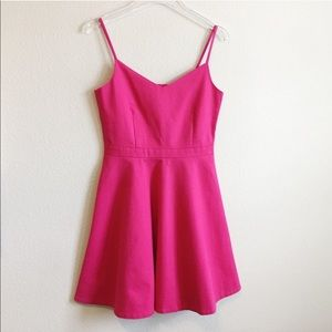 Joie   Pink Mini Fit & Flair Dress   Small